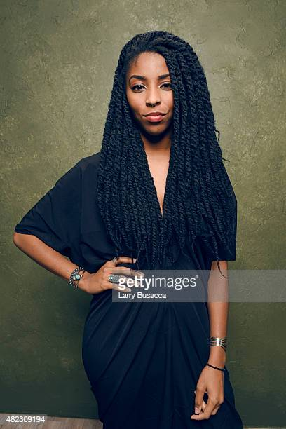 Actress Jessica Williams of 'People Places Things' poses for a portrait at the Village at the Lift Presented by McDonald's McCafe during the 2015...