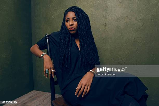 Actress Jessica Williams of People Places Things poses for a portrait at the Village at the Lift Presented by McDonald's McCafe during the 2015...
