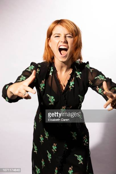 Actress Jessie Buckley from Wild Rose are photographed for The Wrap on September 8 2018 at the Toronto International Film Festival in Toronto Ontario