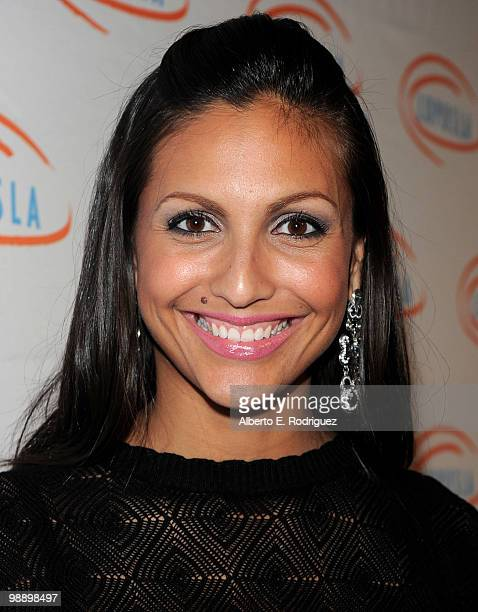 Actress Jessie Camacho arrives at the 10th Annual Lupus LA Orange Ball on May 6 2010 in Beverly Hills California