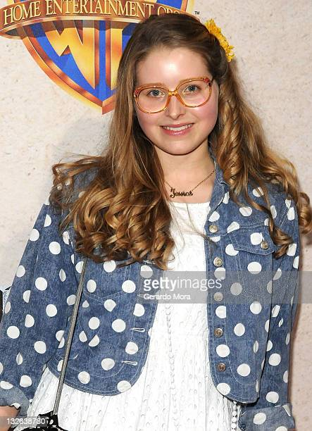 Actress Jessie Cave arrives at the Harry Potter and the Deathly Hallows Part 2 Celebration at Universal Orlando on November 12 2011 in Orlando Florida