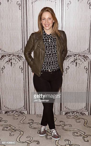 Actress Jessie Mueller attends the Build series to discuss Waitress at AOL HQ on January 10 2017 in New York City