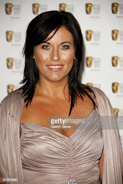 Actress Jessie Wallace arrives at the Pioneer British Academy Television Awards 2006 at the Grosvenor House Hotel on May 7 2006 in London England