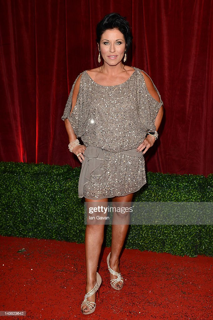 Actress Jessie Wallace attends The 2012 British Soap Awards at ITV Studios on April 28, 2012 in London, England.