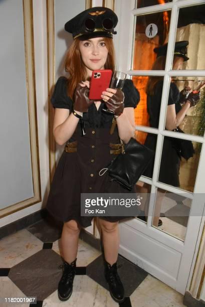 Actress Jia Lissa attends the Bal Masque de Monsieur D At Pavillon d'Armenonville on October 18 2019 in Paris France