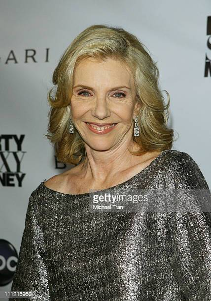 Actress Jill Clayburgh arrives at the Dirty Sexy Money Premiere at Paramount Theatre on September 23 2007 in Hollywood California