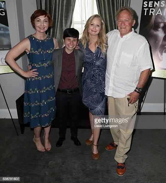 Actress Jill E Alexander director Melissa Finell and actors Anna Lise Phillips and Charles Haid attend the 2016 Los Angeles Film Festival...