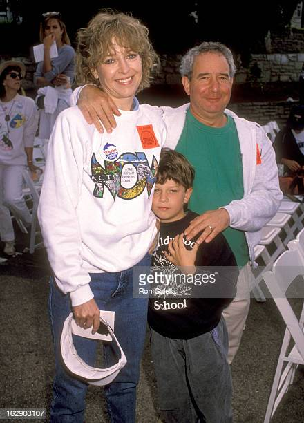 Actress Jill Eikenberry, actor Michael Tucker and son Max Tucker attend the 1990 Permanent Charities Committee of the Entertainment Industries'...