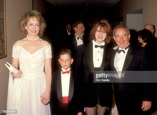 Actress Jill Eikenberry actor Michael Tucker son Max Tucker and daughter Alison Tucker attend The Vital Options' Second Annual 'Vital Spirit' Award...