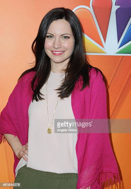 Actress Jill Flint arrives at NBCUniversal's 2015 Winter TCA Tour Day 2 at The Langham Huntington Hotel and Spa on January 16 2015 in Pasadena...