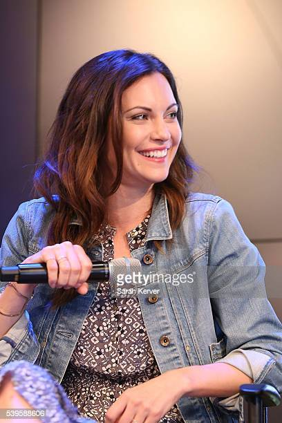 Actress Jill Flint attends Sony Pictures Television's QA at the ATX Television Fesitval on June 12 2016 in Austin Texas