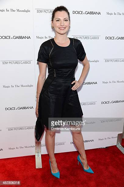 Actress Jill Flint attends the 'Magic In The Moonlight' premiere at the Paris Theater on July 17 2014 in New York City