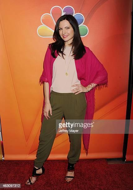 Actress Jill Flint attends the NBCUniversal 2015 Press Tour at the Langham Huntington Hotel on January 16 2015 in Pasadena California