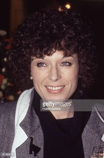 TV actress Jill Gascoine at the Theatre Royal Drury Lane London Star of TV series 'Cats Eyes' and 'The Gentle Touch' in which she played Detective...