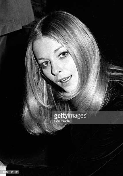 Actress Jill Haworth attends Democratic National Committee Telethon Cocktail Party on September 12 1973 at the Plaza Hotel in New York City