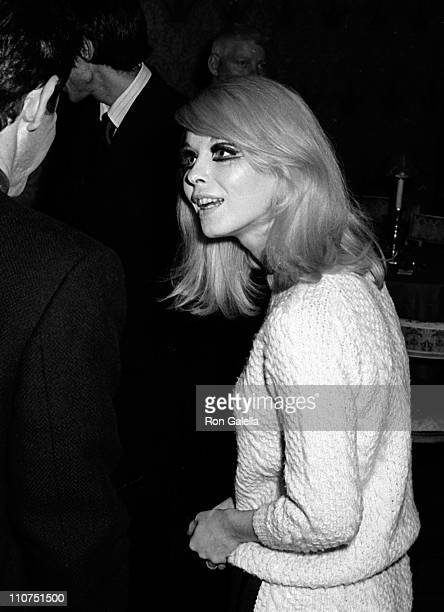 Actress Jill Haworth attends Eddie Fisher Opening Party on August 28 1967 at the Americana Hotel in New York City