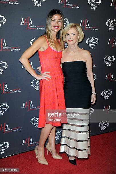 Actress Jill Hennessy and AAFA President CEO Juanita D Duggan attend the 2015 AAFA American Image Awards on April 27 2015 in New York City