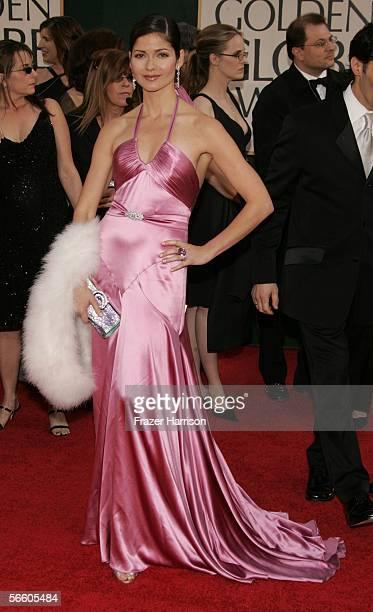 Actress Jill Hennessy arrives to the 63rd Annual Golden Globe Awards at the Beverly Hilton on January 16 2006 in Beverly Hills California