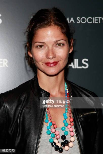 Actress Jill Hennessy attends a screening of The Hangover hosted by the Cinema Society and Details at the Tribeca Grand Screening Room on June 4 2009...