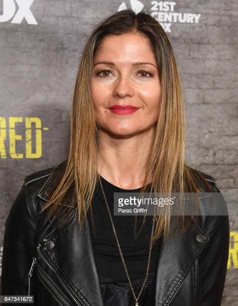 Actress Jill Hennessy attends Shots Fired Atlanta screening at National Center for Civil and Human Rights on March 2 2017 in Atlanta Georgia