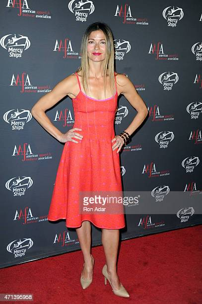 Actress Jill Hennessy attends the 2015 AAFA American Image Awards on April 27 2015 in New York City
