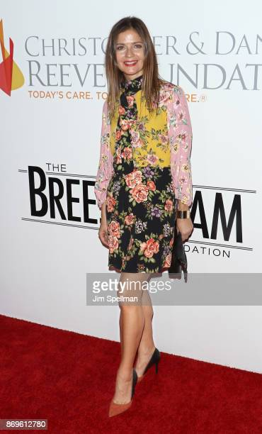 Actress Jill Hennessy attends the 2017 Samsung Charity Gala at Skylight Clarkson Sq on November 2 2017 in New York City