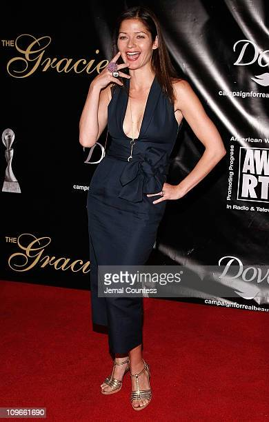 Actress Jill Hennessy attends the 33rd Annual American Women In Radio Television Gracie Allen Awards at the Marriott Marquis on May 28 2008 in New...