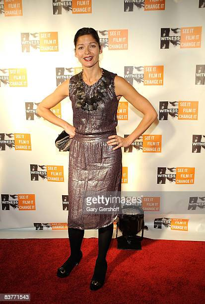 Actress Jill Hennessy attends the 4th Annual Focus for Change at Roseland Ballroom on November 20 2008 in New York City