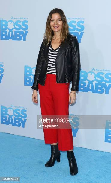 Actress Jill Hennessy attends 'The Boss Baby' New York premiere at AMC Loews Lincoln Square 13 theater on March 20 2017 in New York City