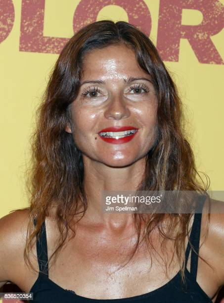 Actress Jill Hennessy attends the 'Dolores' New York premiere at The Metrograph on August 21 2017 in New York City