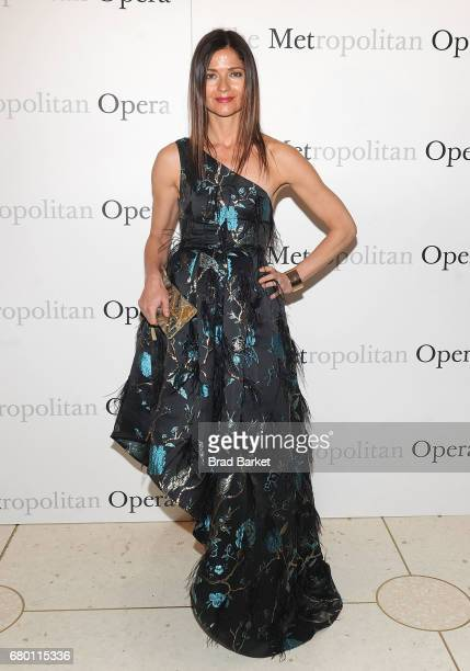 Actress Jill Hennessy attends The Metropolitan Opera 50th Anniversary Gala at The Metropolitan Opera House on May 7 2017 in New York City