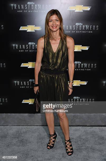 Actress Jill Hennessy attends the New York Premiere of Transformers Age Of Extinction at the Ziegfeld Theatre on June 25 2014 in New York City