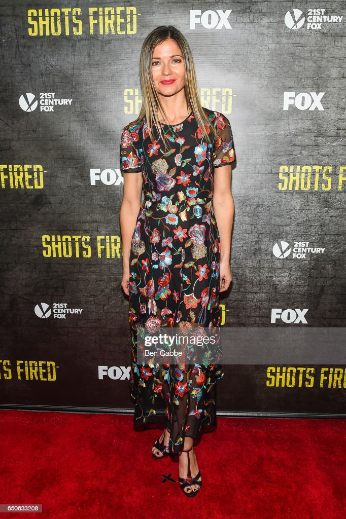 Actress Jill Hennessy attends the 'Shots Fired' New York Special Screening at The Paley Center for Media on March 9, 2017 in New York City.