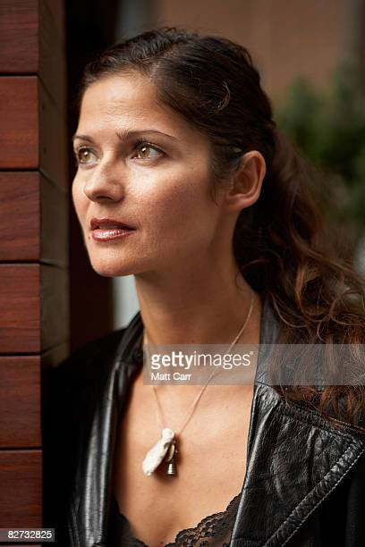 Actress Jill Hennessy from the film Lymelife poses for a portrait during the 2008 Toronto International Film Festival at The Sutton Place Hotel on...