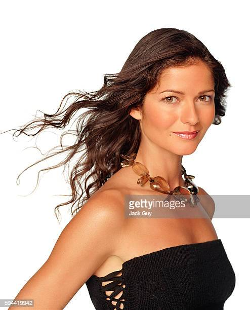 Actress Jill Hennessy is photographed for Emmy Magazine in 2002 in Los Angeles California
