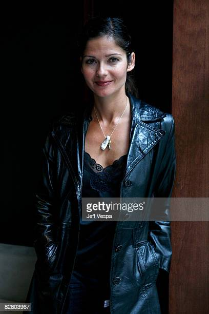 Actress Jill Hennessy poses for a portrait during the 2008 Toronto International Film Festival held at the Sutton Place Hotel on September 8 2008 in...