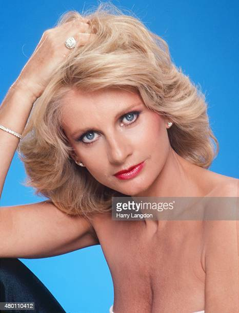 Actress Jill Ireland poses for a portrait in 1983 in Los Angeles, California.