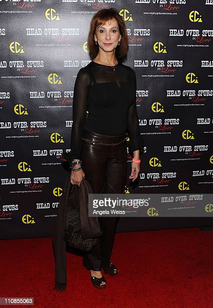 Actress Jill Jacobsen arrives at the world premiere of 'Head Over Spurs In Love' at Majestic Crest Theatre on March 24, 2011 in Los Angeles,...