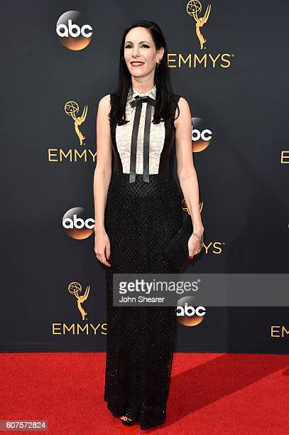 Actress Jill Kargman arrives at the 68th Annual Primetime Emmy Awards at Microsoft Theater on September 18 2016 in Los Angeles California