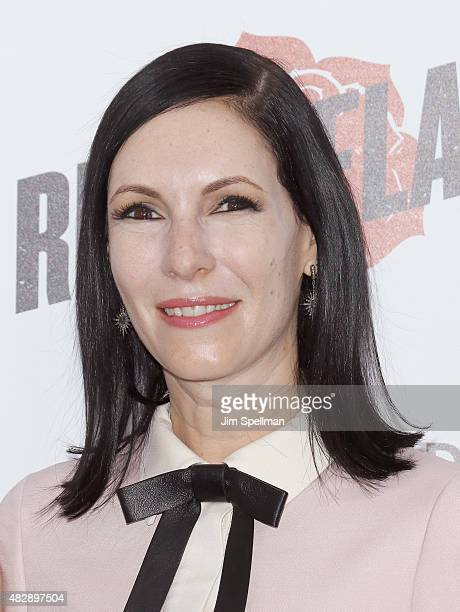 Actress Jill Kargman attends the 'Ricki And The Flash' New York premiere at AMC Lincoln Square Theater on August 3 2015 in New York City