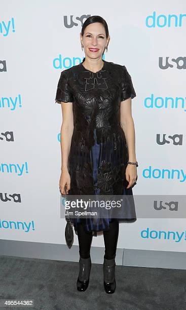 Actress Jill Kargman attends the USA Network hosts the premiere of Donny at The Rainbow Room on November 3 2015 in New York City