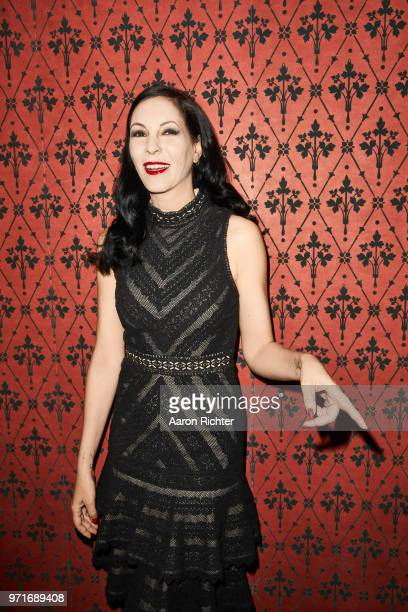 Actress Jill Kargman is photographed for Alice and Olivia Boss Babe on January 16 2018 in New York City
