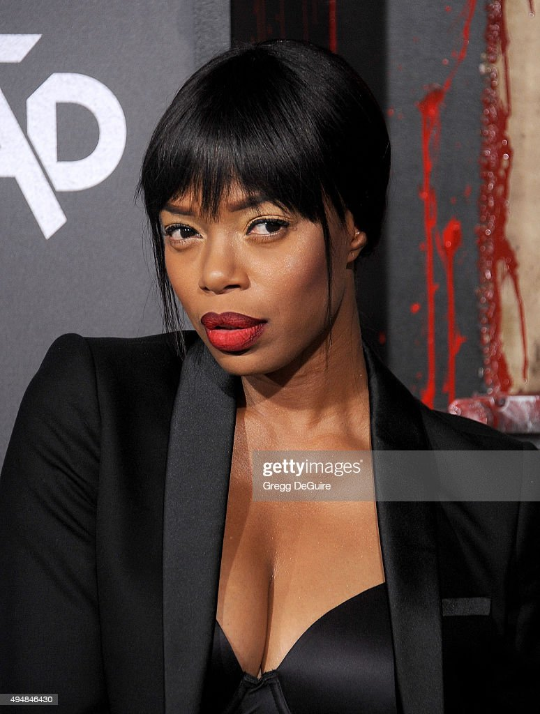 Actress Jill Marie Jones arrives at the premiere of STARZ's 'Ash Vs Evil Dead' at TCL Chinese Theatre on October 28, 2015 in Hollywood, California.