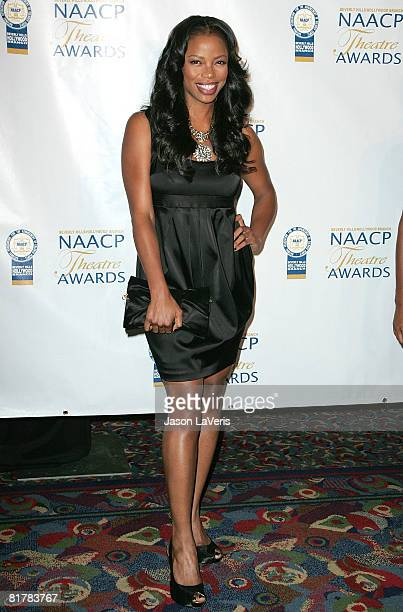 Actress Jill Marie Jones attends the 18th Annual NAACP Theater Awards at the Kodak Theater on June 30 2008 in Hollywood California