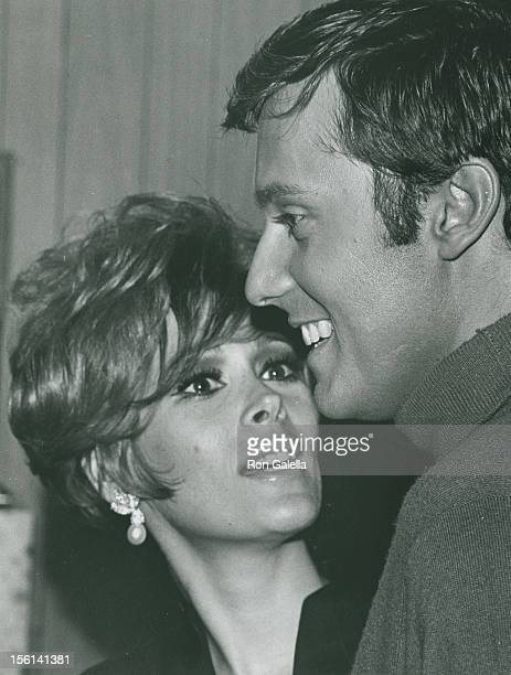 Actress Jill St John and singer Jack Jones attend Jack Jones Opening on February 1 1968 at the Copacabana in New York City