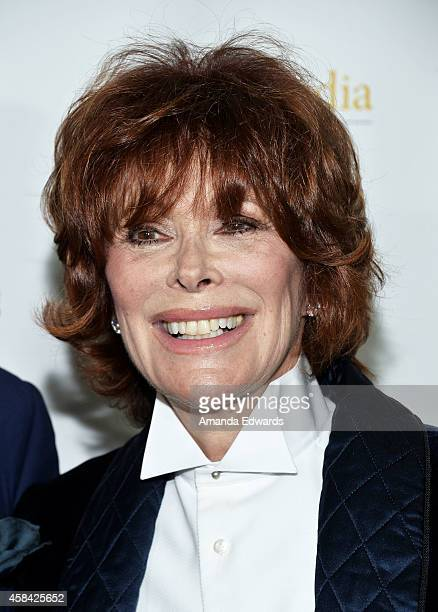 """Actress Jill St. John arrives at the Hallmark Channel's Holiday Christmas world premiere screening of """"Northpole"""" at La Piazza Restaurant on November..."""