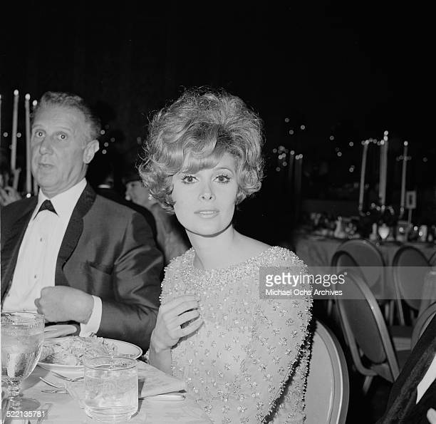 Actress Jill St John attends an event in Los AngelesCA