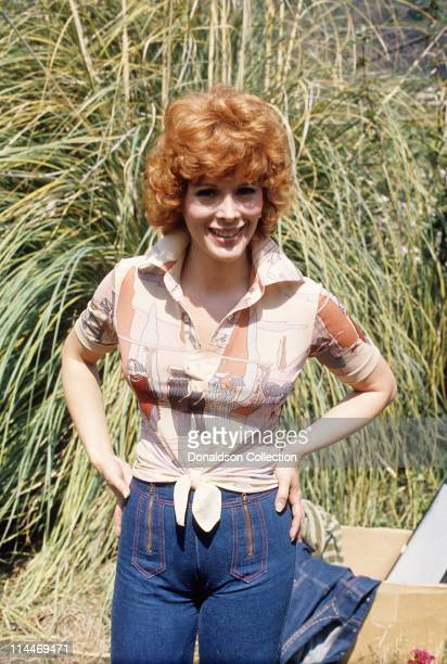 Actress Jill St John poses for a portrait in circa 1980 in Los Angeles California