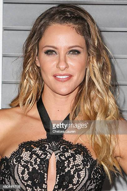 Actress Jill Wagner arrives at Maxim Hot 100 at Pacific Design Center on June 10 2014 in West Hollywood California