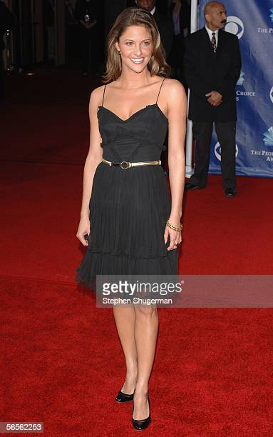 Actress Jill Wagner arrives at the 32nd Annual People's Choice Awards at the Shrine Auditorium on January 10 2006 in Los Angeles California